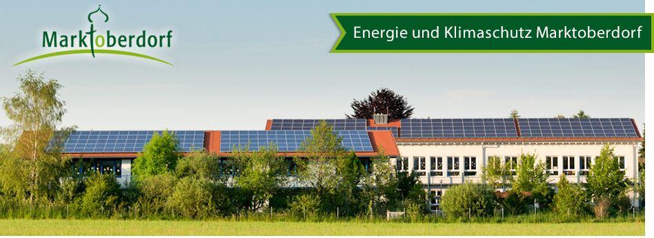 Energie- und Klimaschutz Marktoberdorf Banner